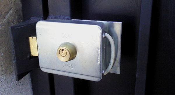 Portón Batiente Chapa Viro Instalada