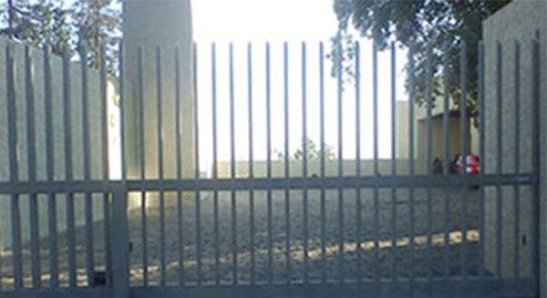 Portón de corredera automático