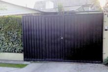 Portón Corredera Emplanchado