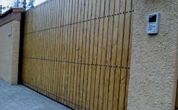 Portón Corredera automatizado