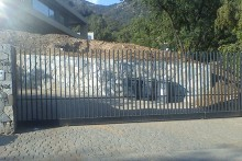 Portón Corredera automático